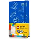 Moleskine LEGO Limited Edition Notebook II, Large, Plain, Blue, Hard Cover (5 x 8.25) (Moleskine Limited Edition)