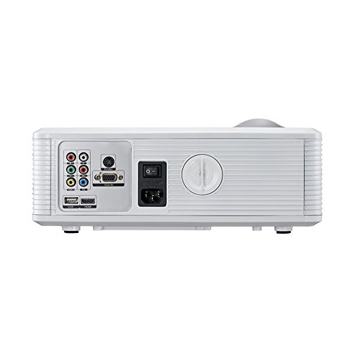 Aodeneng 174 Led Projector 2200 Lumens Portable Home Theatre
