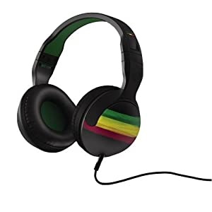 Skullcandy Hesh 2.0 Over-Ear Headphones - Rasta