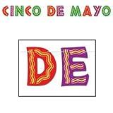 Glittered Cinco De Mayo Streamer Party Accessory (1 count) (1/Pkg)