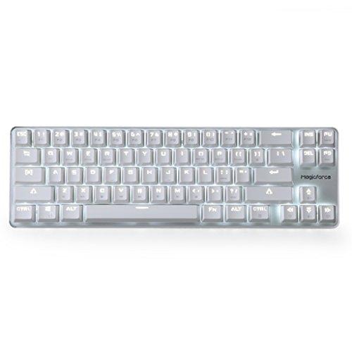 Qisan Gaming Keyboard Mechanical Wired Keyboard Cherry MX Brown ...