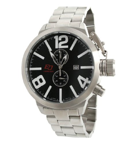 Etienne Ozeki Chronograph Watch with Stainless steel bracelet