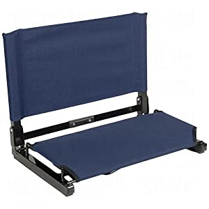 Stadium Chair Deluxe Navy by Stadium Chair Co.