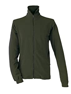 Baleno Tura Mens Fleece Jacket   - S, Khaki