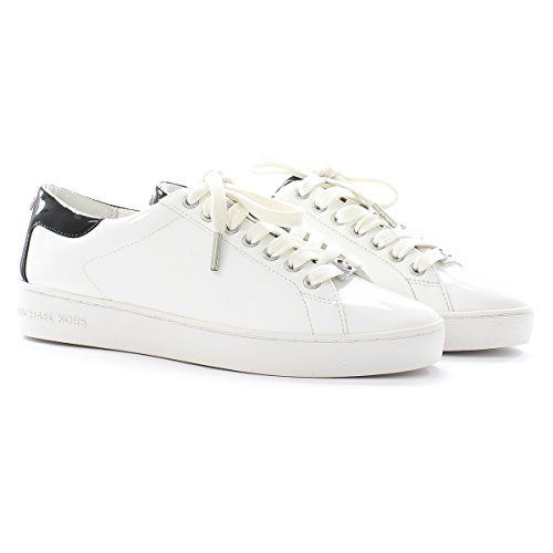 Michael Kors Sneaker Keaton Kiltie Sneaker Optic White Black 37