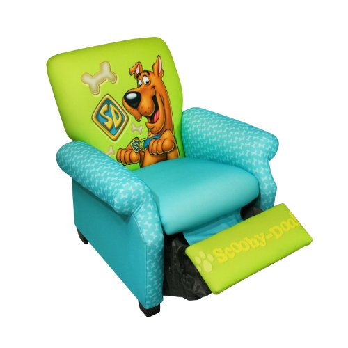 Newco Kids Warner Brothers Recliner, Scooby-Doo front-747319