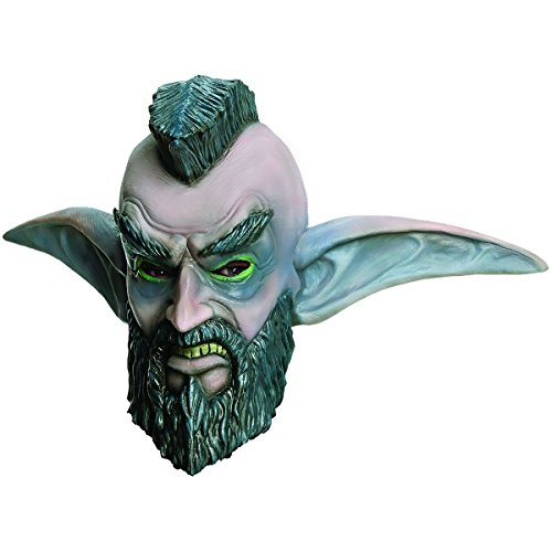 [GSG Mohawk Grenade Costume Mask World of Warcraft Adult WOW Mr T Night Elf] (World Of Warcraft Night Elf Costumes)