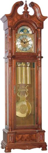Beautiful Cherry Van Buren Grandfather Clock