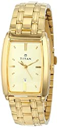 Titan Royal Analog Beige Dial Mens Watch - NE1163YM02