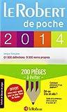 Dictionnaire Le Robert de poche 2014