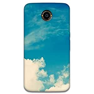 Mott2 Cloud Sky Back cover for Nexus 6 (Limited Time Offers,Please Check the Details Below)