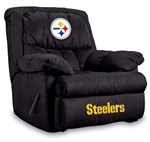 NFL Pittsburgh Steelers Home Team Microfiber Recliner by Imperial