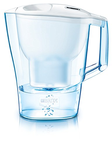 BRITA Aluna Frosted - Filtre à eau Pichet, 3.5L - Blanc