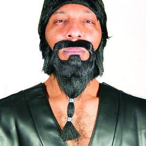 [Khal Drogo's Braided Beard Game Of Thrones Adult HBO Halloween Costume New] (Khal Drogo Costumes)