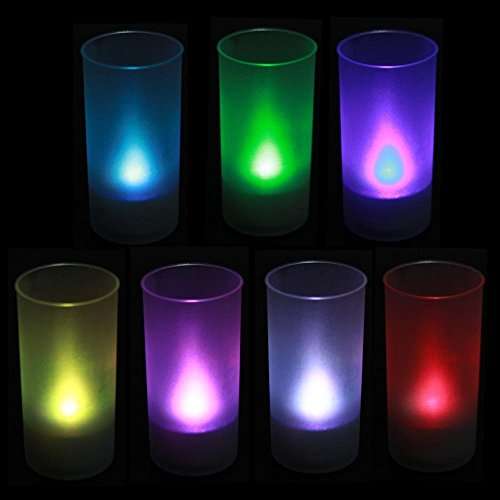 WoneNice Flickering Candle Set Battery Operated - Flickers Like a Real Candle Battery Operated Tealight Candles Flameless Candle Wedding Tea Light evelots battery operated self stirring mug black set of 2