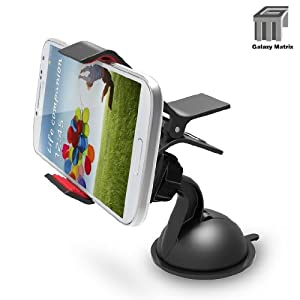 Gmatrix Super Power Windshield Dashboard Car Mount Holder Non-sticky Suction Cup (Black)