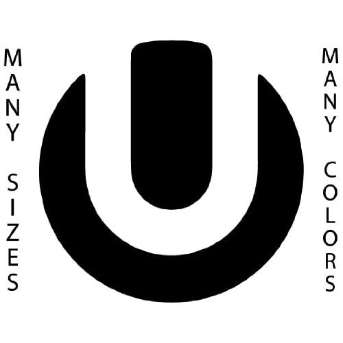 ... High - Black - Ultra Music Festival Logo Self Adhesive Vinyl Decal