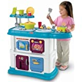 Fisher-Price Grow with Me Cook and Care Teal Kitchen