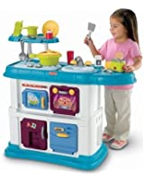 Fisher-Price Grow with Me Cook and Care Kitchen - Teal
