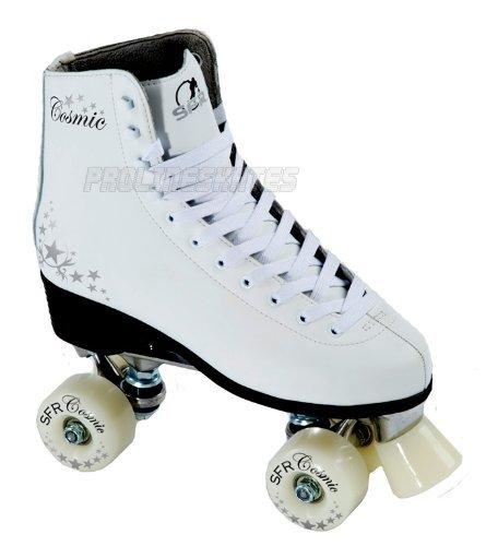 patins roulettes patin roullette sfr cosmique blanc 39 5 uk 6 eu 39 5. Black Bedroom Furniture Sets. Home Design Ideas