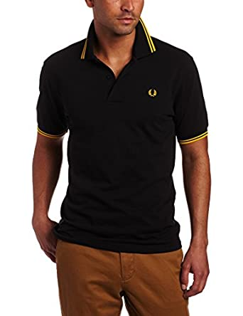 FRED PERRY - Sweater - Polo noir Fred Perry - 3 - M - Noir