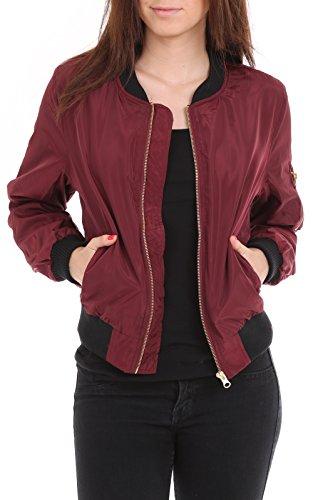 womens-light-weight-aviation-bomber-jacket-wine-large