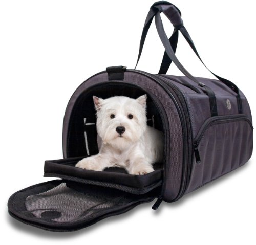 Kobi Pet Carrier - Soft Sided - Airline Approved, Charcoal, Small
