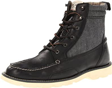 Sperry Topsider The Cloud Shipyard Rigger Boot,8,Black