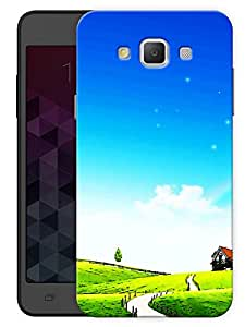"""Humor Gang Road To Nowhere Printed Designer Mobile Back Cover For """"Samsung Galaxy E5"""" (3D, Matte Finish, Premium Quality, Protective Snap On Slim Hard Phone Case, Multi Color)"""