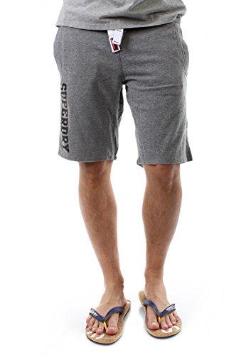 Superdry pantaloncini da uomo Superdry Lite Short Dark Marl Grau XL