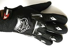 Sylan's Knighthood _AMRGLKNB01 Bike Riding Gloves (Black_Large) ...