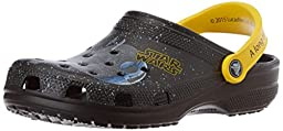 crocs Men\'s Classic Star Wars Clog, Black, 6 M US