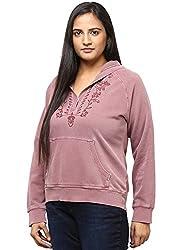 GRAIN Maroon Color Regular fit Cotton Jackets for Women