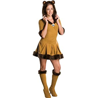 Famale Wizard Of Oz Cowardly Lion Costume