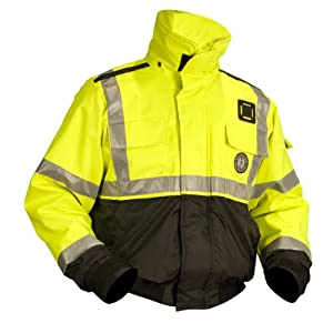 Mustang Survival High Visibility Flotation Bomber Jacket by Mustang Survival