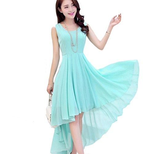 Latests Blue Round Dresses