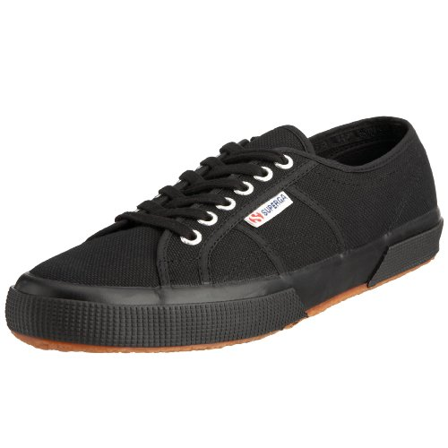 Superga 2750 Cotu - Zapatillas para hombre, color Negro (Schwarz (Full Black 996)), talla 47