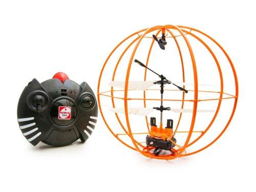 R/C ラジコン 3ch ジャイロ搭載 スペースボール 謎の浮遊物体 オレンジ 京商エッグ