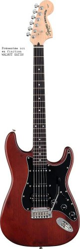 Squier - guitare electrique - standard series - fat stratocaster hss - candy apple red