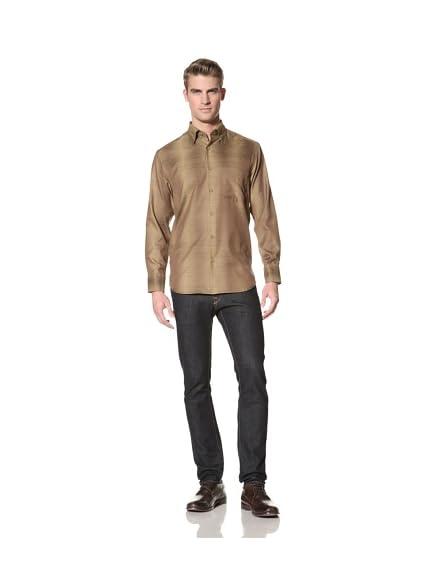 Jhane Barnes Men's Tonal Stripe Shirt