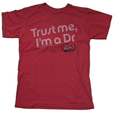 Dr. Pepper Trust Me I'm A Dr. Licensed T-shirt