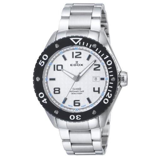 [エドックス]EDOX 腕時計 クラスワン デイトオートマチック ホワイト文字盤 自動巻 30気圧防水 80079-3-AIN2 メンズ 【並行輸入品】