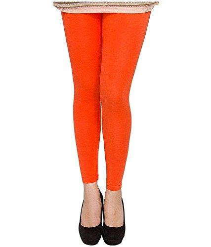 Priyalis-Collection-Orange-Cotton-Leggings