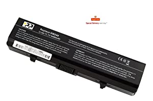 PP® New Laptop Battery for Dell Inspiron 1526 1525 1545 1750 1440 Fits gw240 rn873 m911g m911 x284g k450n [ Li-ion 6-cell 4400mAh] replacement. With Globe one year warranty.