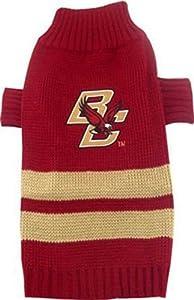 Pets First Boston College University Dog Sweater, X-Small