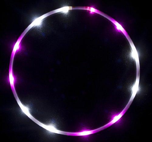 """36"""" - 12 Solid Color Led Hula Hoop - Hooplesly In-Love"""