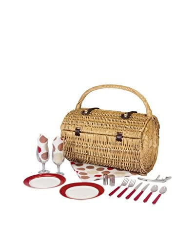 Picnic Time Service for 2 Barrel Picnic Basket