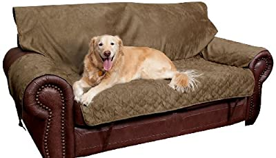 Solvit Loveseat Full Coverage Pet Bed Protector, Moss from Solvit Products