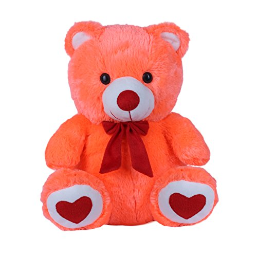 Kuddles-Spongy-Teddy-Bear-15-inches-Soft-Toy-Gifts-Carrot