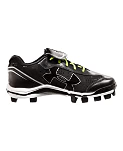 Under Armour Women's UA Glyde TPU Softball Cleats 7.5 Black